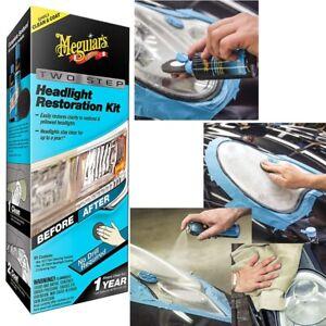 KIT Antigraffio e polish ripristino fanali Meguiars Headlight Restoration Kit