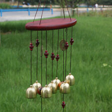 New Copper Bell Mobile Carillon éolien Home Yard Garden Outdoor Living Décoration Ornement