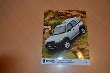 PHOTO DE PRESSE ( PRESS PHOTO ) Land Rover Freelander XE SW de 1997 RO140