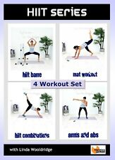 HIIT Intervals Exercise DVD - Barlates Body Blitz HIIT SERIES - 4 Workouts