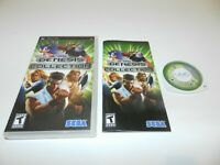 Sega Genesis Collection Sony PSP Game Complete CIB Tested