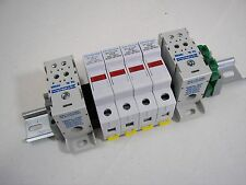 Solar Combiner Box  Din-rail Assembly - 32A, 600V - 4-String with 4 Fuse Holders