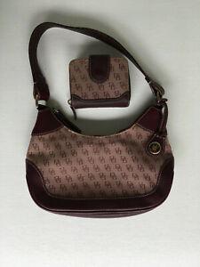 Dooney & Bourke Signature Small Hobo & Wallet Purple