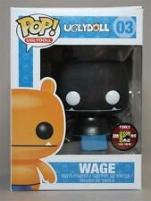 UGLYDOLL Wage FUNKO Pop San Diego Comic Con 2012 Exclusive Limited Edition