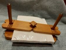 Nice Vintage Paper Napkin Holder Handmade Hand crafted Wooden Holder