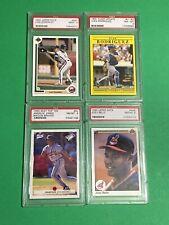 🔥 1990's Baseball PSA 9 NM-MT HOF ROOKIE CARD RC LOT - GONZALEZ RODRIGUEZ JONES