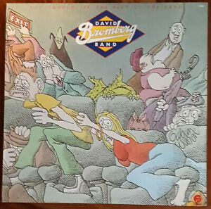 DAVID BROMBERG BAND LP YOU SHOULD SEE THE REST OF THE BAND / FANTASY USA 1980
