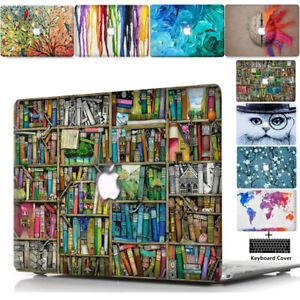 "For Macbook Pro Air 11 13"" 15"" 16"" 2012-2020 M1 Hard Case Keyboard Cover Skin TT"