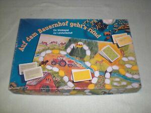 Auf dem Bauerhof geht`s rund - Holz Tiere Brettspiel Landwirtschaftsverlag 1997