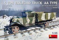 Miniart 1:35 1.5 Ton Railroad Truck AA Type Model Kit
