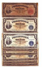 Lot of 16 Old Philippines Banknotes