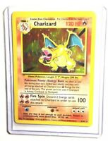 CHARIZARD - 4/102 - Base Set - Holo - Pokemon Card - EXC / NEAR MINT