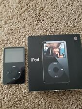 Apple iPod classic 5th Generation Black (30 GB) - Excellent Condition