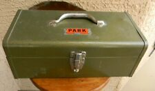 VTG PARK MFG CO MODEL 83333 FISHING TACKLE TOOL BOX ONLY MADE USA 16X8X6