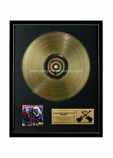 RGM1075 Iron Maiden The Number of the Beast Gold Disc 24K Plated LP 12""