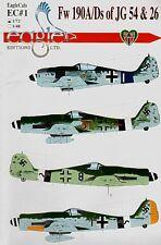 Eagle CAL 1/72 FOCKE WULF FW 190A/D di JG54 e 26 # 72001