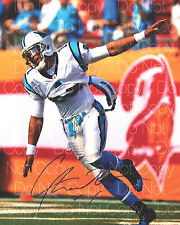 Cam Newton signed Carolina Panthers 8X10 photo picture poster autograph RP 2