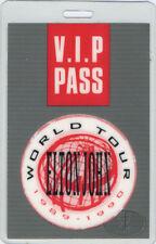 Elton John 1989 Laminated Backstage Pass Vip