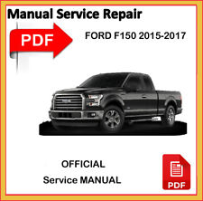 Ford F150 2015 2016 2017 F-150 Factory Service Repair Workshop Manual official