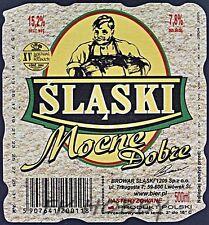 Poland Brewery Lwówek Śląski Mocne Beer Label Bieretikett Cerveza ls133.2