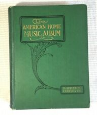 Antique 1915 Book American Home Music Album / Sheet Music Score Traditional D-1