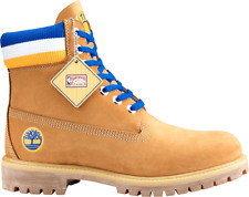 Timberland Boots NBA Golden State Warriors Wheat Construction Shoes TB0A1UD5231