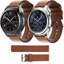 Genuine Leather Watch Strap Band For Smart Samsung Gear S3 Classic / Frontier US