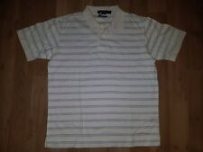 Men's Nautica Stripe Polo Shirt  SZ M         BIN A1
