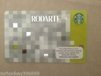 2013 Starbucks Canada RODARTE Gift Card (no cash value) 133