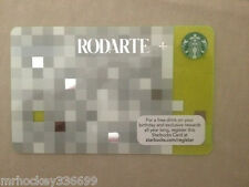Starbucks Canada 2013 RODARTE Gift Card (no cash value)