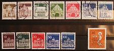 Briefmarken Bund 1966 Lot gestempelt  MichelNr. 489-515
