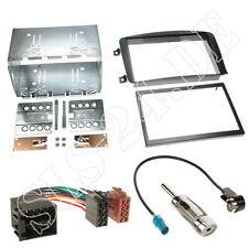 Autoradio Doppel 2 DIN Einbaurahmen Blende Adapterkabel MERCEDES CLK-Klasse W209