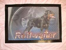 Tapis d'entrée caoutchouc - chien  ROTTWEILER