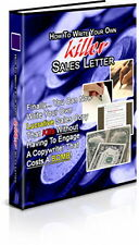 How You Can Write Your Own Great Sales Letters - Kill The Competition (CD-Rom)