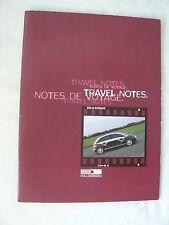 ITALDESIGN - Travel Notes - IT-Prospekt Brochure 1998 - Großformat!
