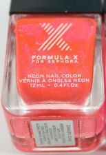 New and Sealed Formula X for Sephora Electric Nail Polish Danger Zone 0.4 fl oz