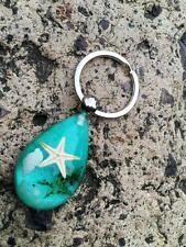 12pc  wholesale  fashion insect jewelry starfish design key-chains  f005