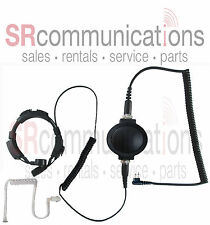 Throat mic PTT headset Motorola CP200 PR400 CP185 BPR40 P1225 GP300 CT450 GTX800