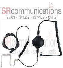 Throat mic PTT headset Motorola CP200 PR400 CP185 BPR40 P1225 GP300 CT450 GTX800