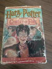 Harry Potter: Harry Potter and the Goblet of Fire 4 by J. K. Rowling (2000, Cas…