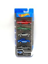 5 x Hot Wheels Diecast Fast & Furious Toy Car Pack Impala Ford Corvette Chevelle