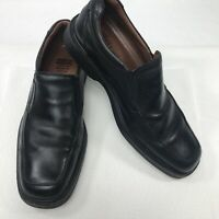 Johnston Murphy XC4 Waterproof Loafers Black Leather Mens Size 9.5