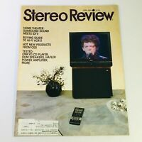 VTG Stereo Review Magazine April 1989 - Onkyo CD Player & OHM Speakers Tested