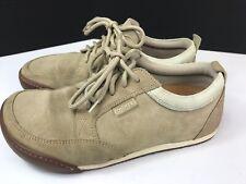 Footprints Birkenstock Women's Sz 38 L 7 Leather Comfort Oxfords Sneakers Shoes