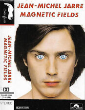 JEAN MICHEL JARRE MAGNETIC FIELDS CASSETTE ALBUM Electro, Synth-pop, Ambient
