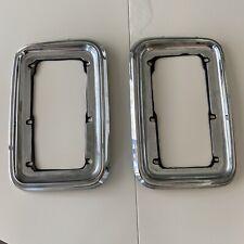 Dodge Ram Van Chrome TAIL LENS BEZEL LAMP TRIM LIGHT Assemblies Gaskets 35970A