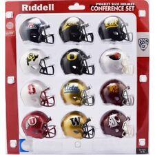 2018 NCAA PAC 12 Pocket Pro Speed Revolution Mini Helmets Set by Riddell
