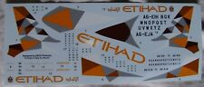Revell 1/144 Airbus A320 Ethiad Airways decals only, used