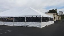 New Picture Window tent sidewalls, Commercial, Party, pole, frame, George Maser