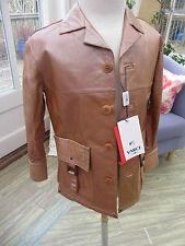 ITALIAN Varci Boys leather jacket age 2 years Bronze colour RRP £164